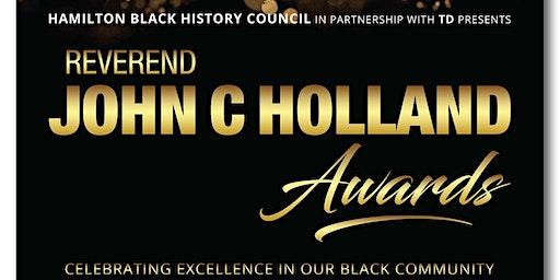 Reverend John C Holland Awards 2020