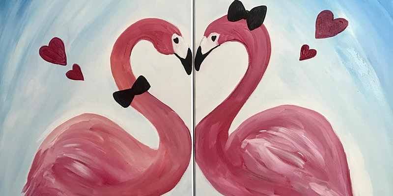 Valentine's Day Paint and Sip