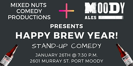 Happy Brew Year!  Stand Up Comedy tickets