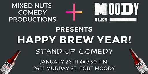 Happy Brew Year!  Stand Up Comedy