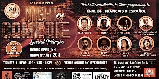 Night of Comédie