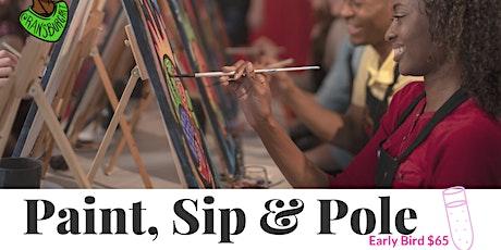 Paint, Sip & Pole tickets