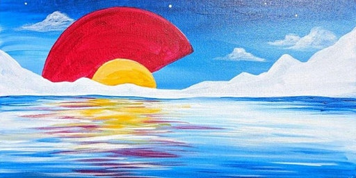 Paint Wine Denver Colorado Reflection Sat Feb 22nd 3pm $35