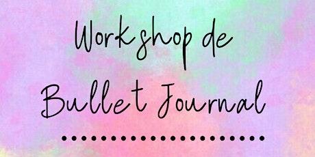 Workshop de Bullet Journal ingressos