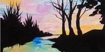 Paint Wine Denver Sunset Reflection Sat Feb 22nd 7pm $40
