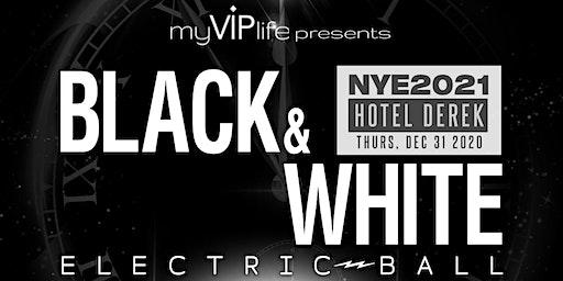 Black & White NYE Electric Ball | New Year's Eve 2021 (Houston, TX)