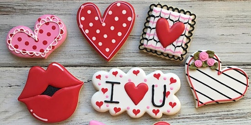 Be My Valentine Beginner Cookie Decorating Class