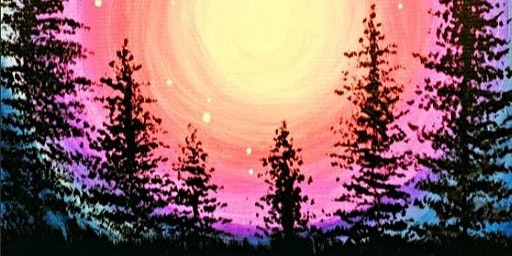 Paint Wine Denver Majestic Moonlight Sat Feb 29th 7pm $40