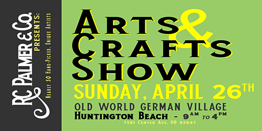 Arts & Crafts Show in Huntington Beach