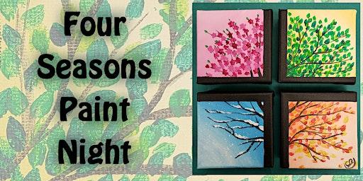 4 Season Tree Paint Night with Shelby