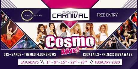 International Carnival - Cosmo Alive! tickets