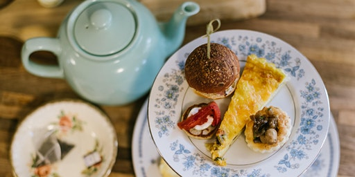 Afternoon Tea at the Iron Kettle