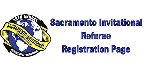 18th Annual Sacramento Invitational-Referee Registration
