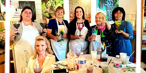2020 New Year New Wine Glass - Paint your own at LDV Wine Tasting Room