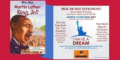 MLK JR Day Giveaway tickets