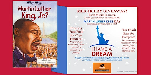MLK JR Day Giveaway
