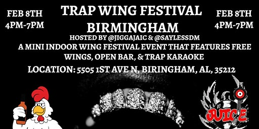 Trap Wing Festival Birmingham