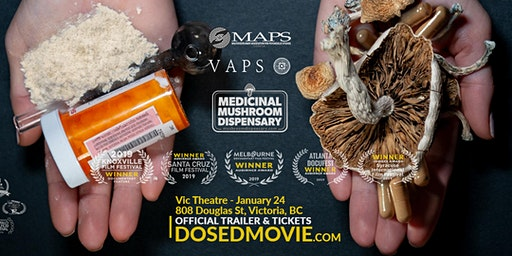 DOSED Documentary + Q&A at Vic Theatre, back by popular demand!