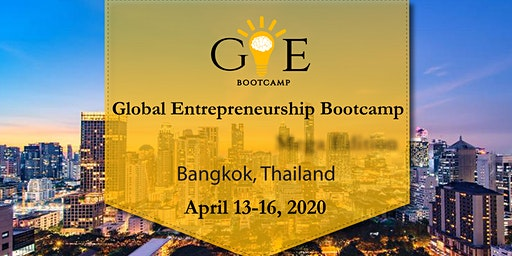 7th Global Entrepreneurship Bootcamp in Bangkok