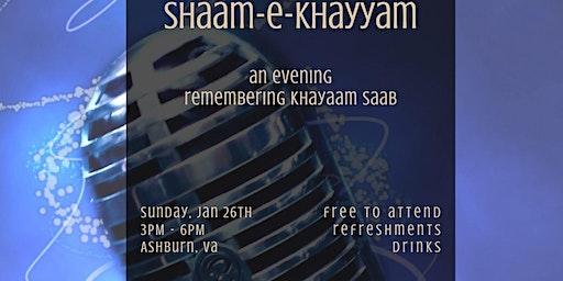 Shaam-e-Khayyam
