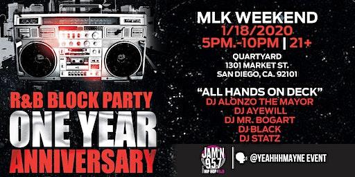 R&B Block Party: 1 Year Anniversary
