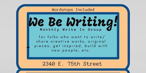 We Be Writing