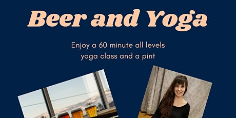 Beer and Yoga tickets