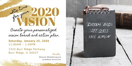 2020 Vision: Set Your Sights High & Get Moving!