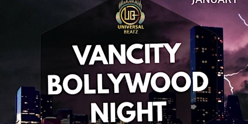 VANCITY BOLLYWOOD NIGHT