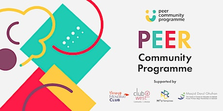 PEER Community Programme Registration tickets