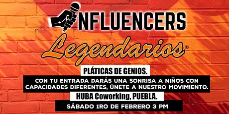 Pláticas de Genios / Influencers Legendarios boletos