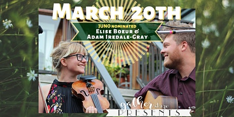 Elise Boeur and Adam Iredale-Gray - JUNO NOMINATED tickets