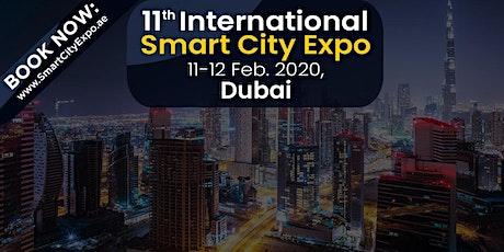11th International Smart City Expo 11-12 Feb. 2020, Dubai, UAE tickets
