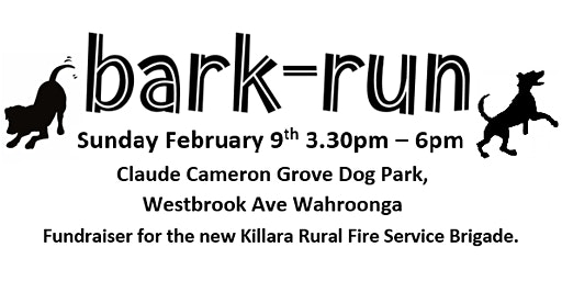 BARK RUN - RFS KILLARA FUNDRAISER
