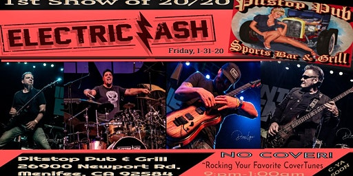 Electric Ash at Pitstop Pub / Menifee