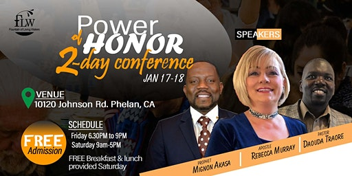 POWER OF HONOR - CONFERENCE