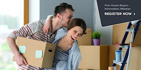 First Home Buyers Information Webinar - Australia tickets
