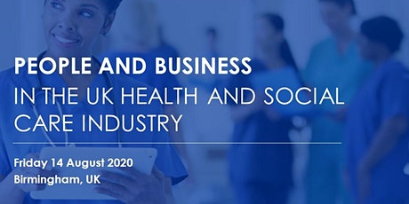 People and Business in the UK Health and Social Care Industry tickets