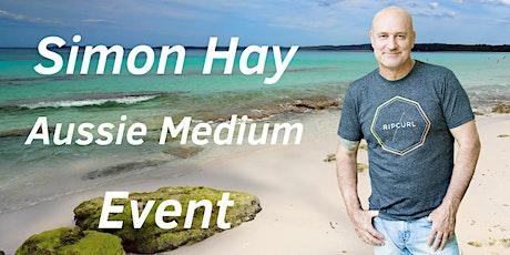 Aussie Medium, Simon Hay at Coronation Hall in Bundaberg tickets