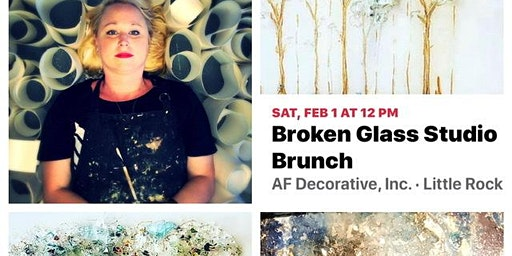 Broken Glass Art Brunch with Tracy Rivers