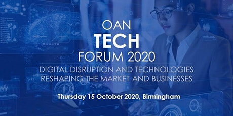 OAN Tech Forum 2020 tickets