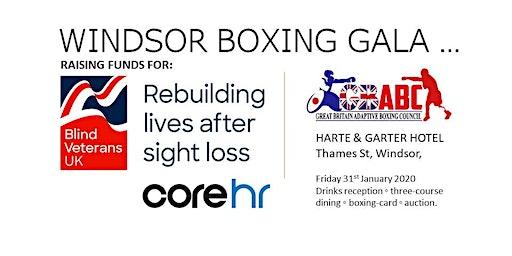 Blind Veterans UK: Windsor Boxing Gala