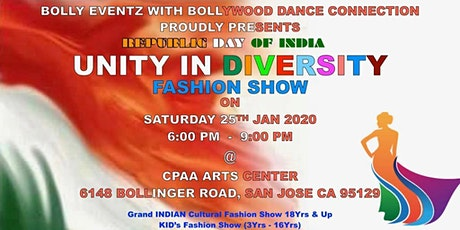 Indian Republic Day Unity in Diversity Fashion Show tickets