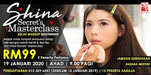 Kelas Makeup Beginner - Shina Secrets' Masterclass