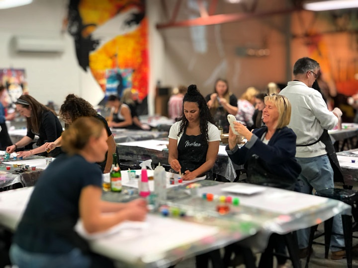 Tiger Paint and Sip Party  13.3.21 image
