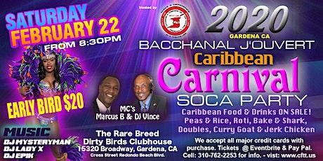 2020 Carnival/Mardi Gras Soca Bacchanal J'Ouvert Party tickets