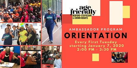 Age Friendly Ambassador Program Orientation tickets