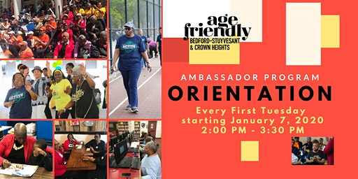 Age Friendly Ambassador Program Orientation