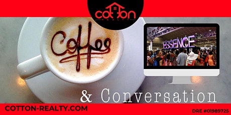 1st Saturday Coffee and Conversation - Real Estate tickets
