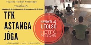 TFK Astanga Jóga - VEZETETT/MYSORE